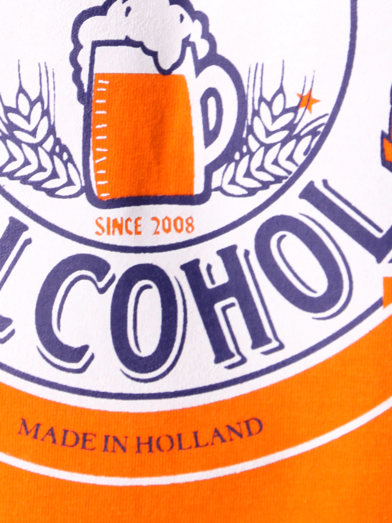 Fan of Alcohol orange - Sold out