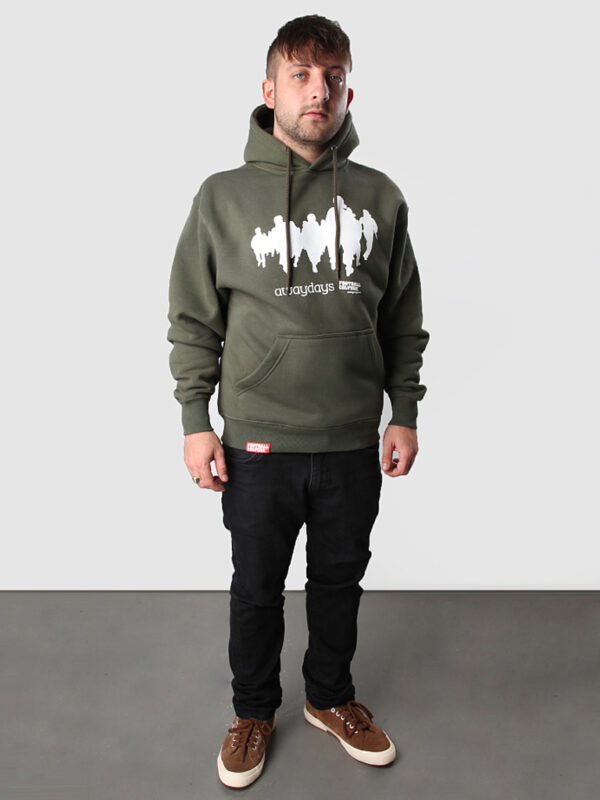 FC 121011 Hoody Awaydays green 3 side