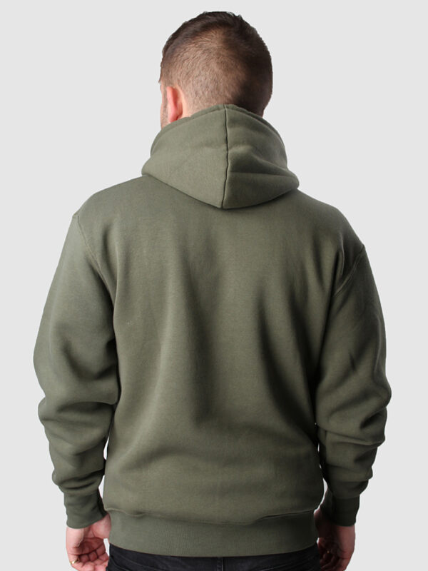 FC 121011 Hoody Awaydays green 4 back