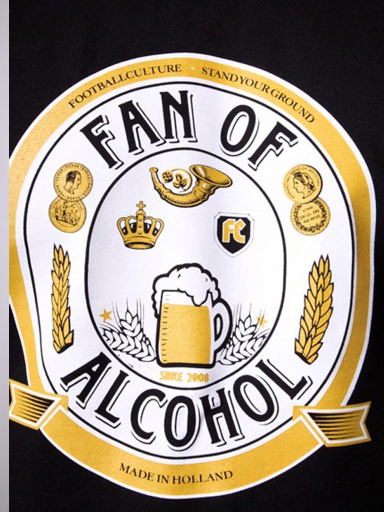 FC 110304 fan of alcohol tshirt tee footballcult 2