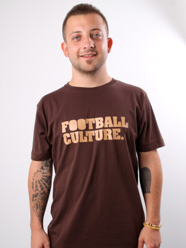 FC 110802 shirt footballculture logo brown 1