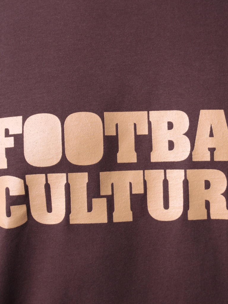 FC 110802 shirt footballculture logo brown 2
