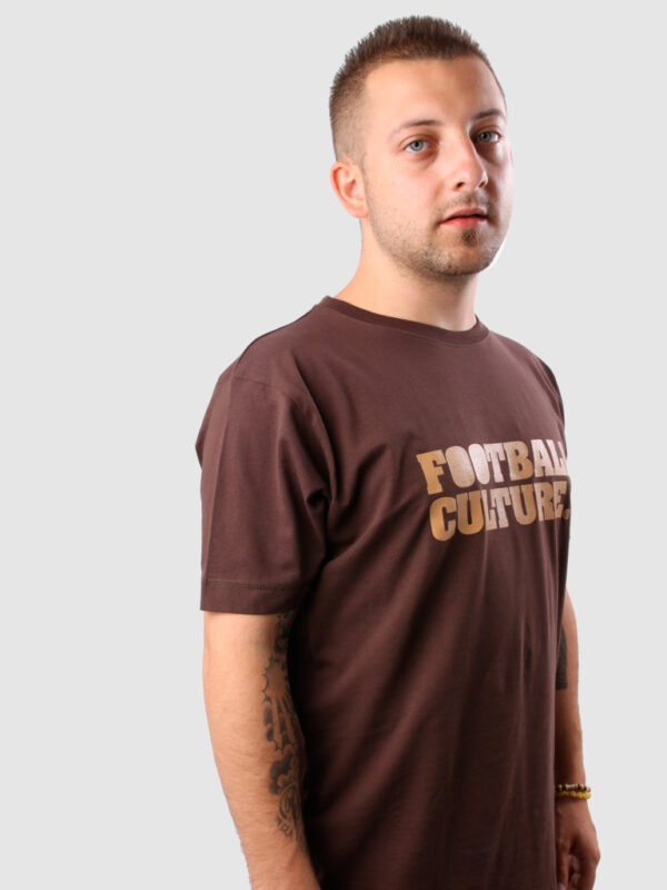 FC 110802 shirt footballculture logo brown 3