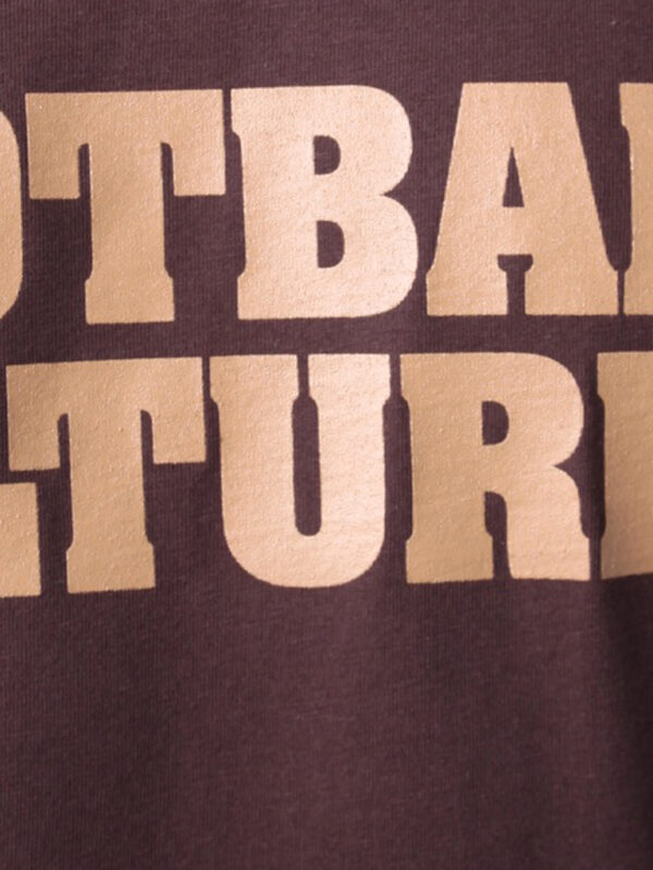 FC 110802 shirt footballculture logo brown 4