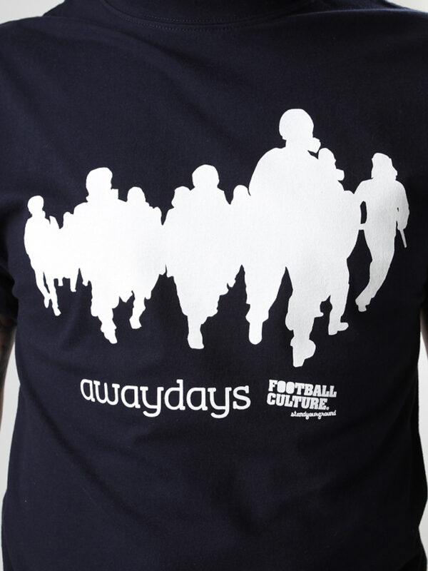 Awaydays navy shirt