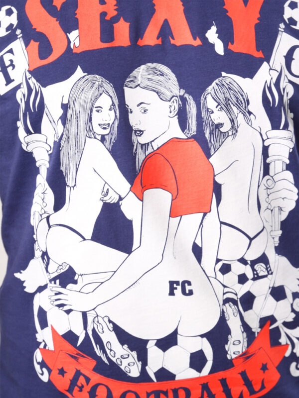 FC 110105 sexy football shirt 2 print