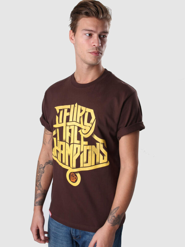 Third Half Champions shirt