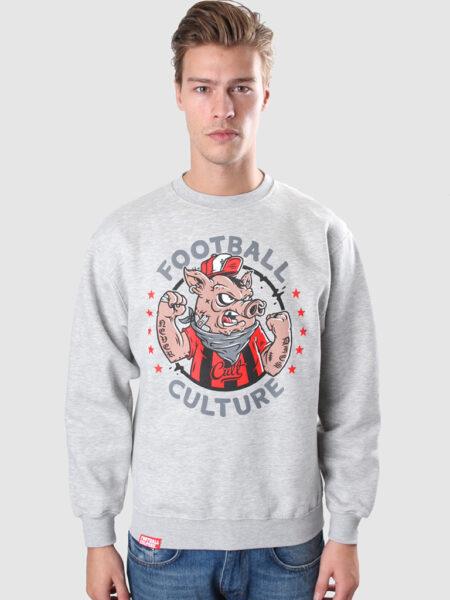 Crewneck pig football culture