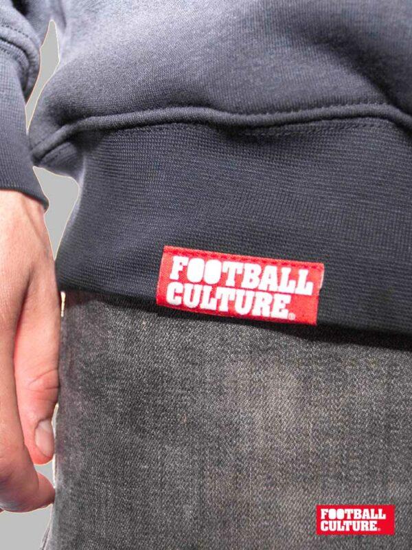 FC 151103 Boxlogo crewneck navy 6 logo