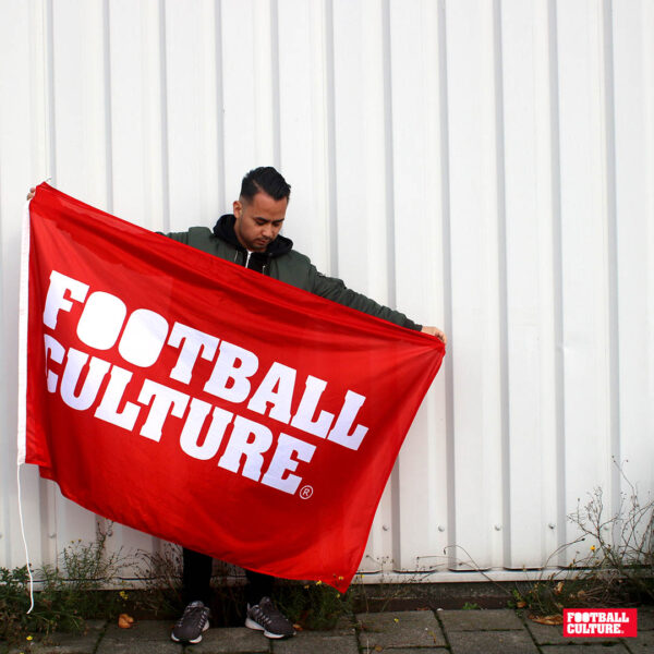 FC 151201 FootballCulture Vlag rood 3