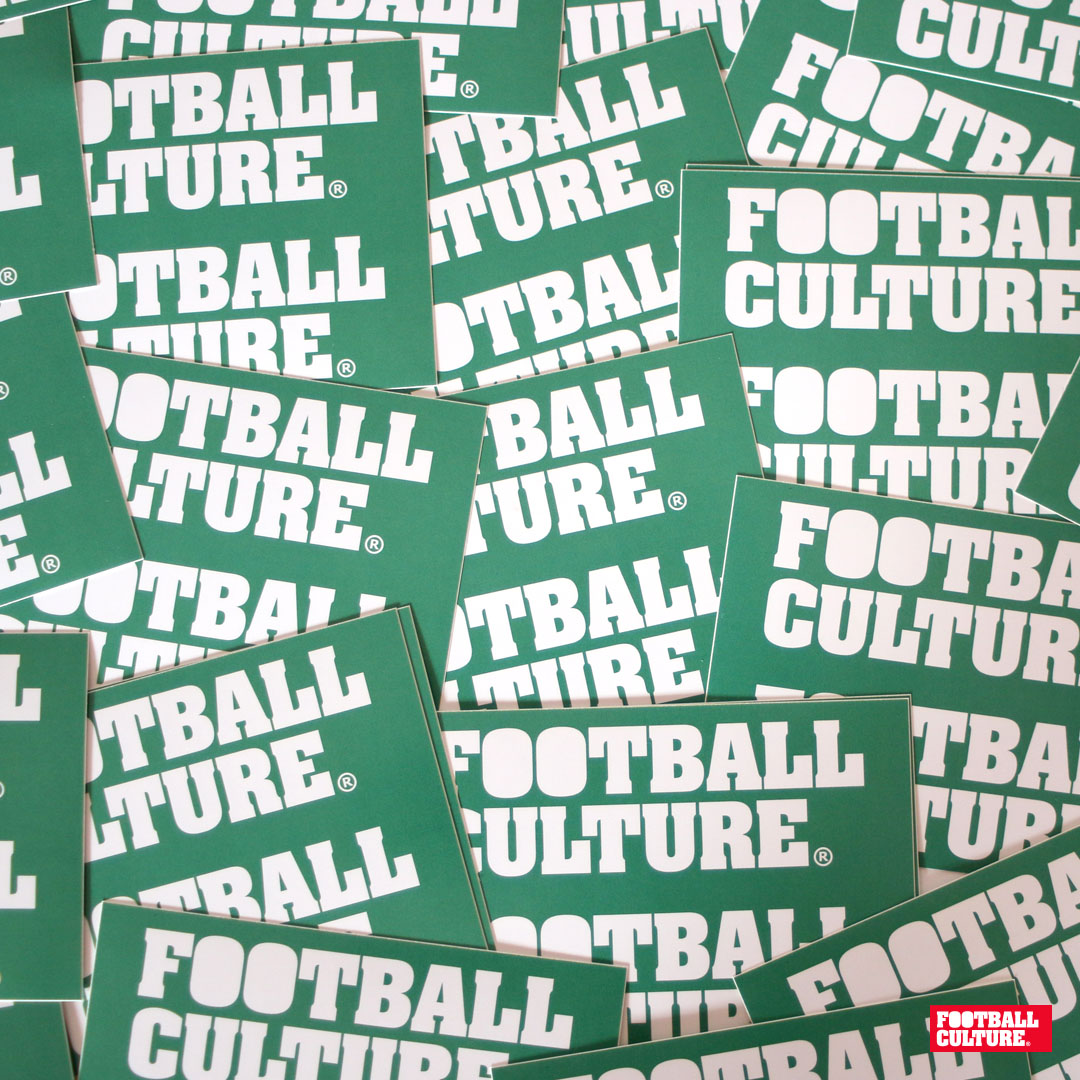 FC 160105 Footballculture Stickers green
