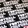 FootballCulture stickers black