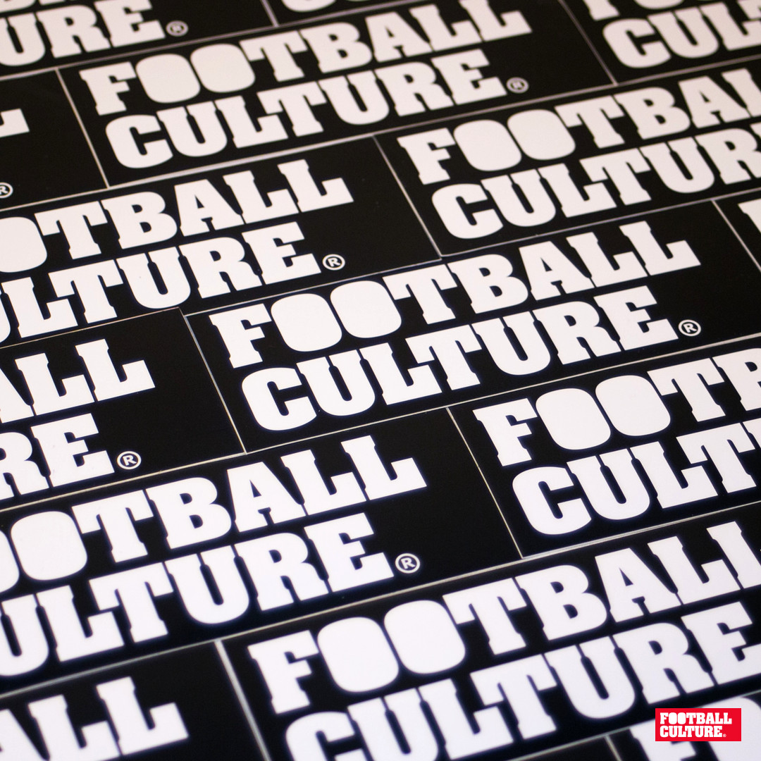 FootballCulture stickers black
