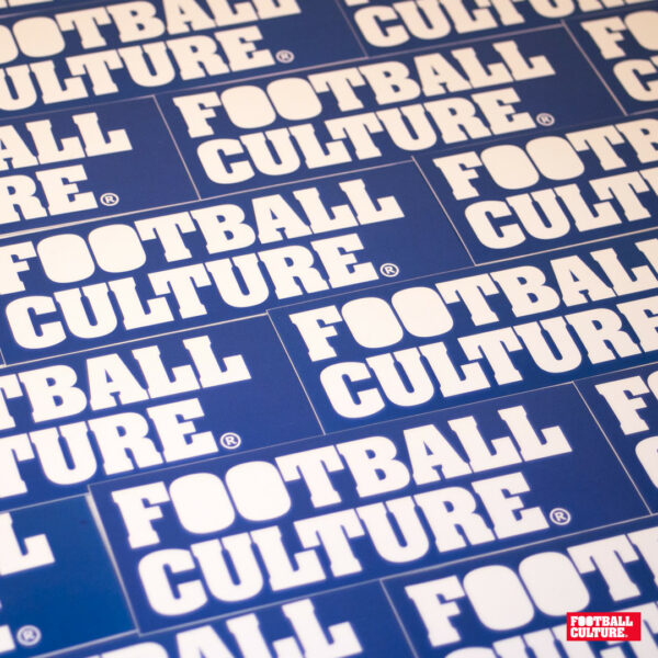 FootballCulture stickers blue