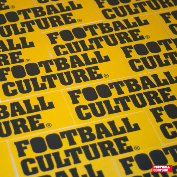 FootballCulture stickers yellow