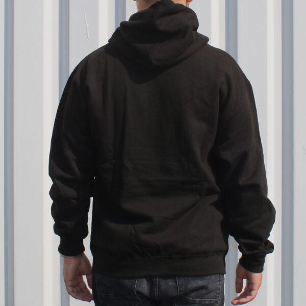 FC 180411 FootballCulture hoodie black back