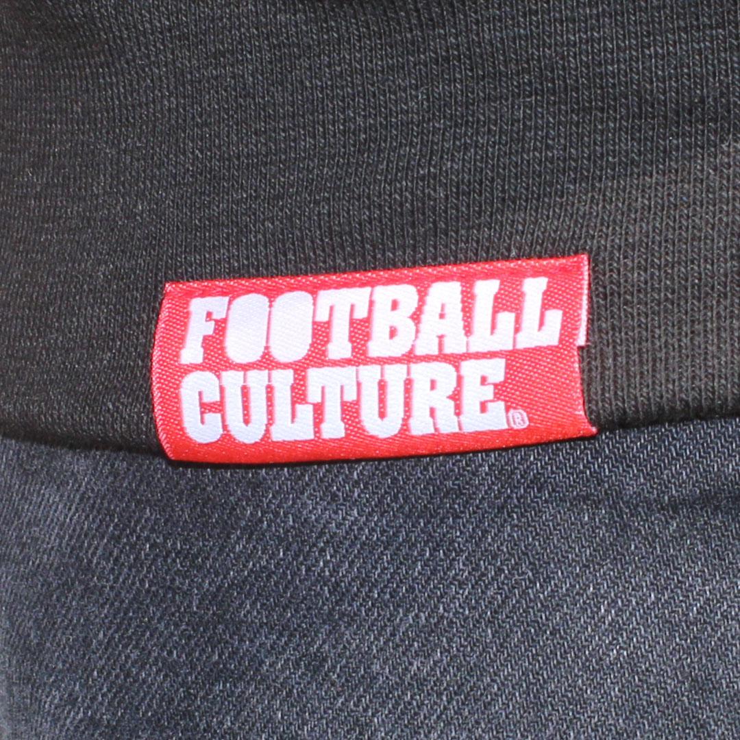 FC 180411 FootballCulture hoodie black logo