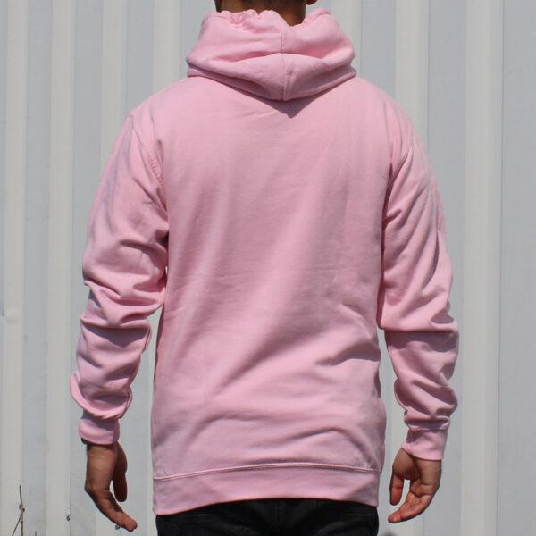FC 180413 Hoodie Pink back