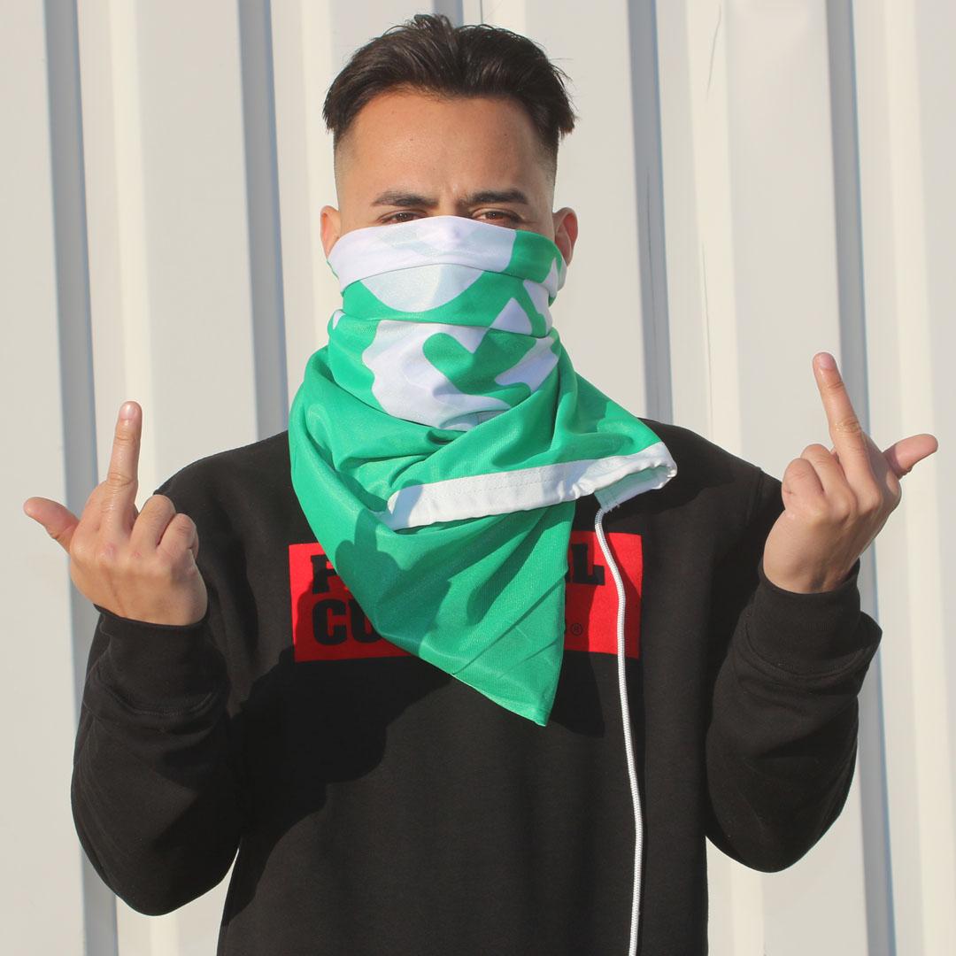 vlag groen logo