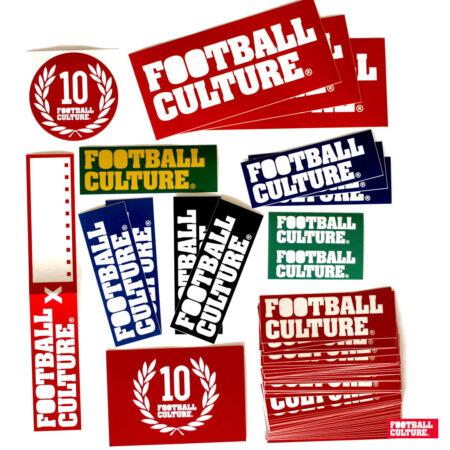 footballculture sticker packs