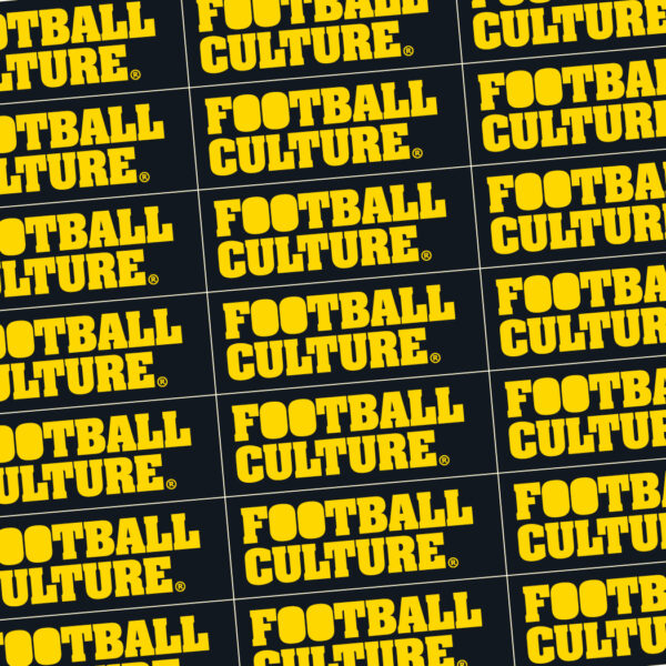 footballculture stickers geel zwart