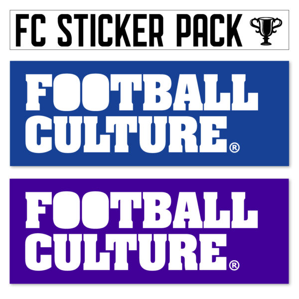 FootballCulture stickers blauw
