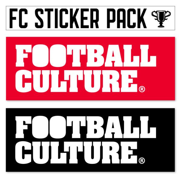 FootballCulture stickers rood