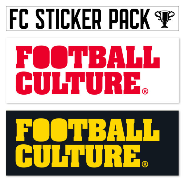 FootballCulture stickers wit