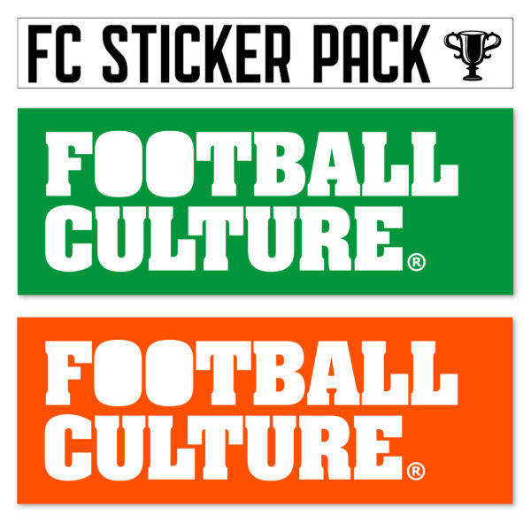 FootballCulture stickers groen