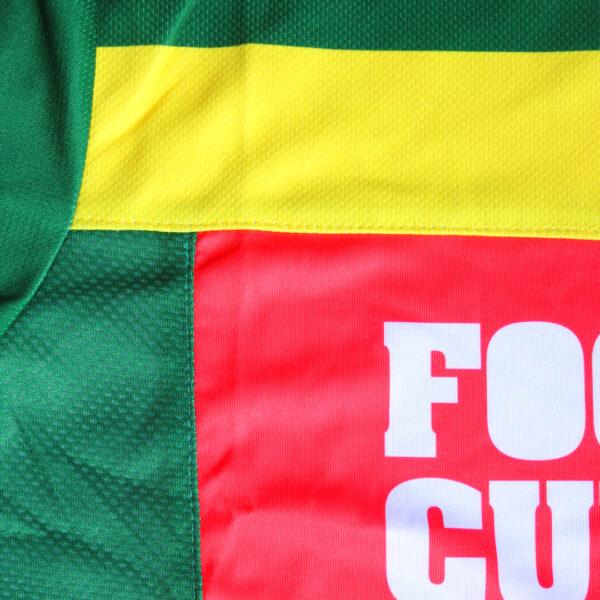 Jersey voetbalshirt footballculture groen10
