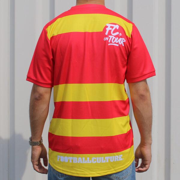 Jersey voetbalshirt footballculture rood12
