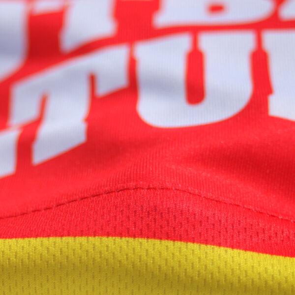 Jersey voetbalshirt footballculture rood2