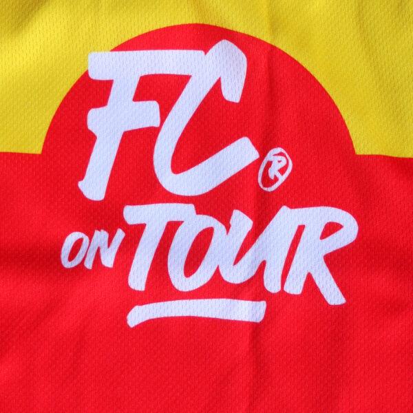 Jersey voetbalshirt footballculture rood6