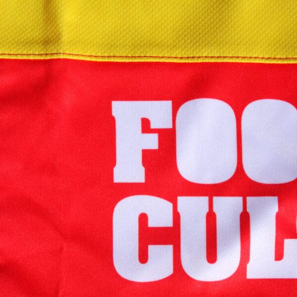 Jersey voetbalshirt footballculture rood9