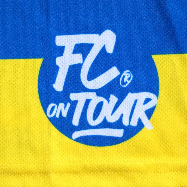 Jersey voetbalshirt footballculture blauw10