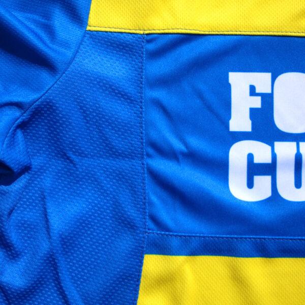 Jersey voetbalshirt footballculture blauw12