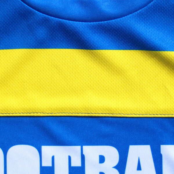 Jersey voetbalshirt footballculture blauw9