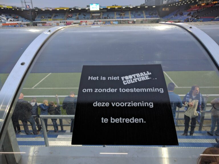1 sticker dugout zwolle