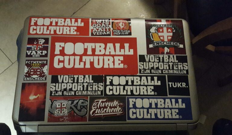 FCTwente sticker laptop